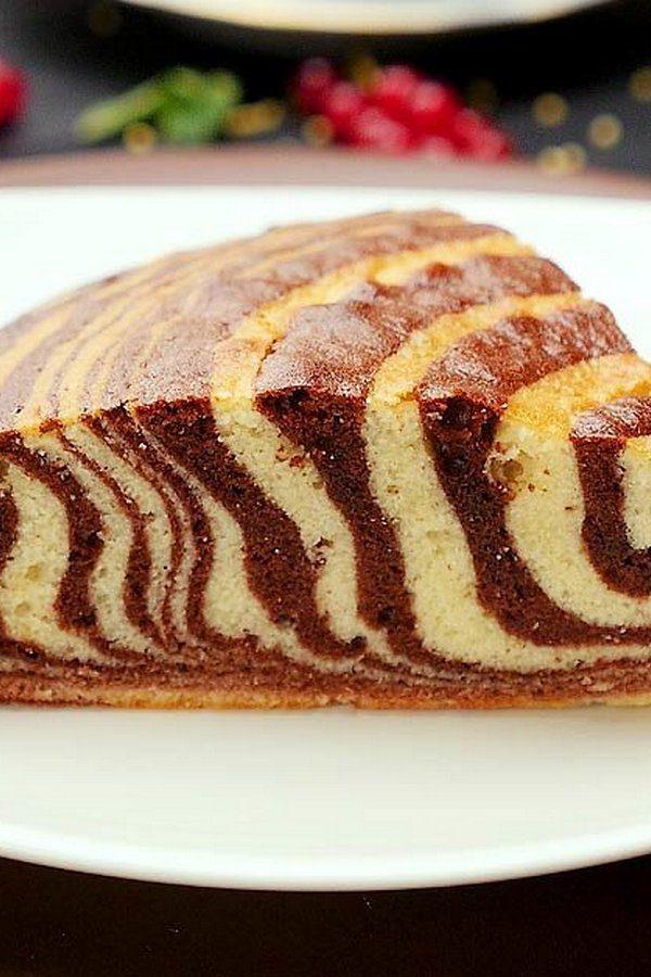 полосатый пирог рецепт с фото зависимости того, куда