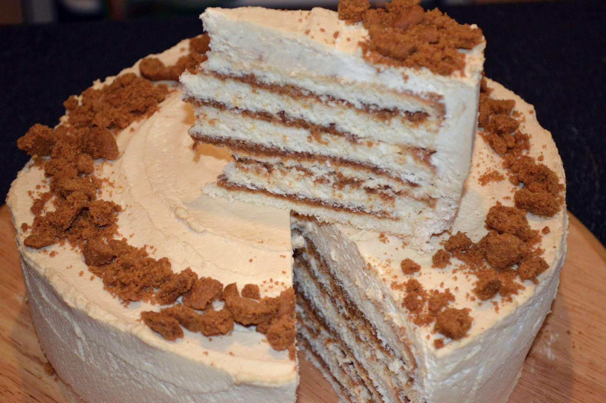 торт из кофе 3в1 без выпечки