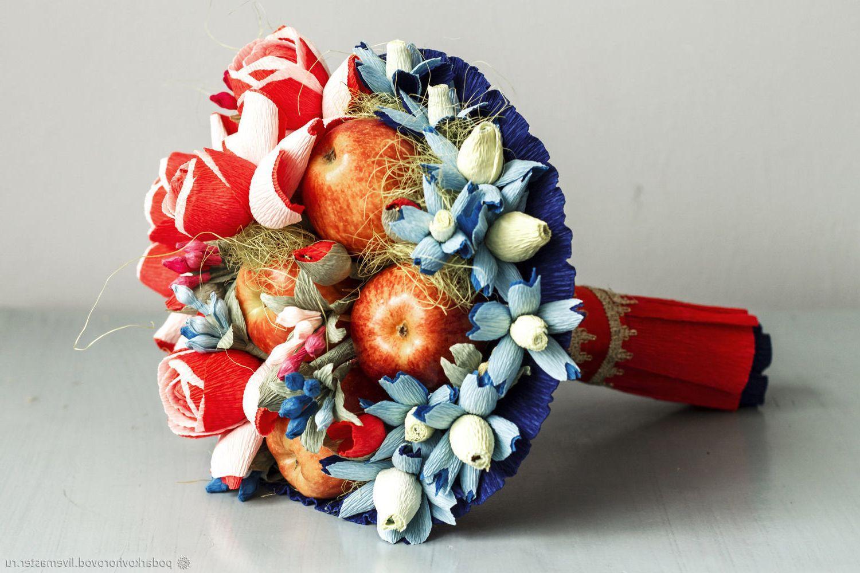 фруктово конфетный букет своими руками пошаговое фото искренний снимок остался