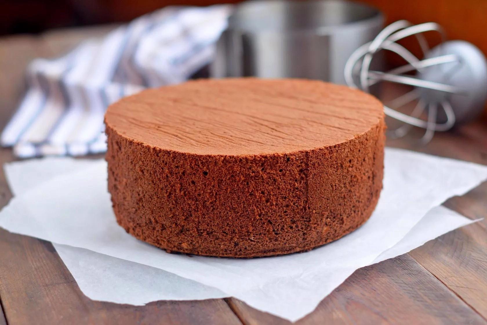 Рецепт пышного бисквита для торта с фото