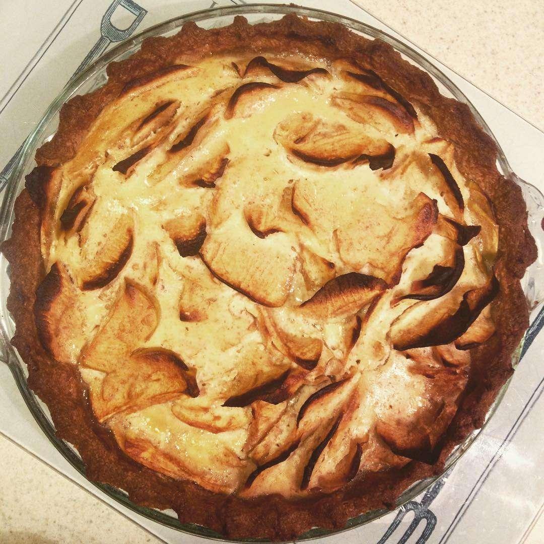 Цветаевский яблочный пирог пошаговое фото